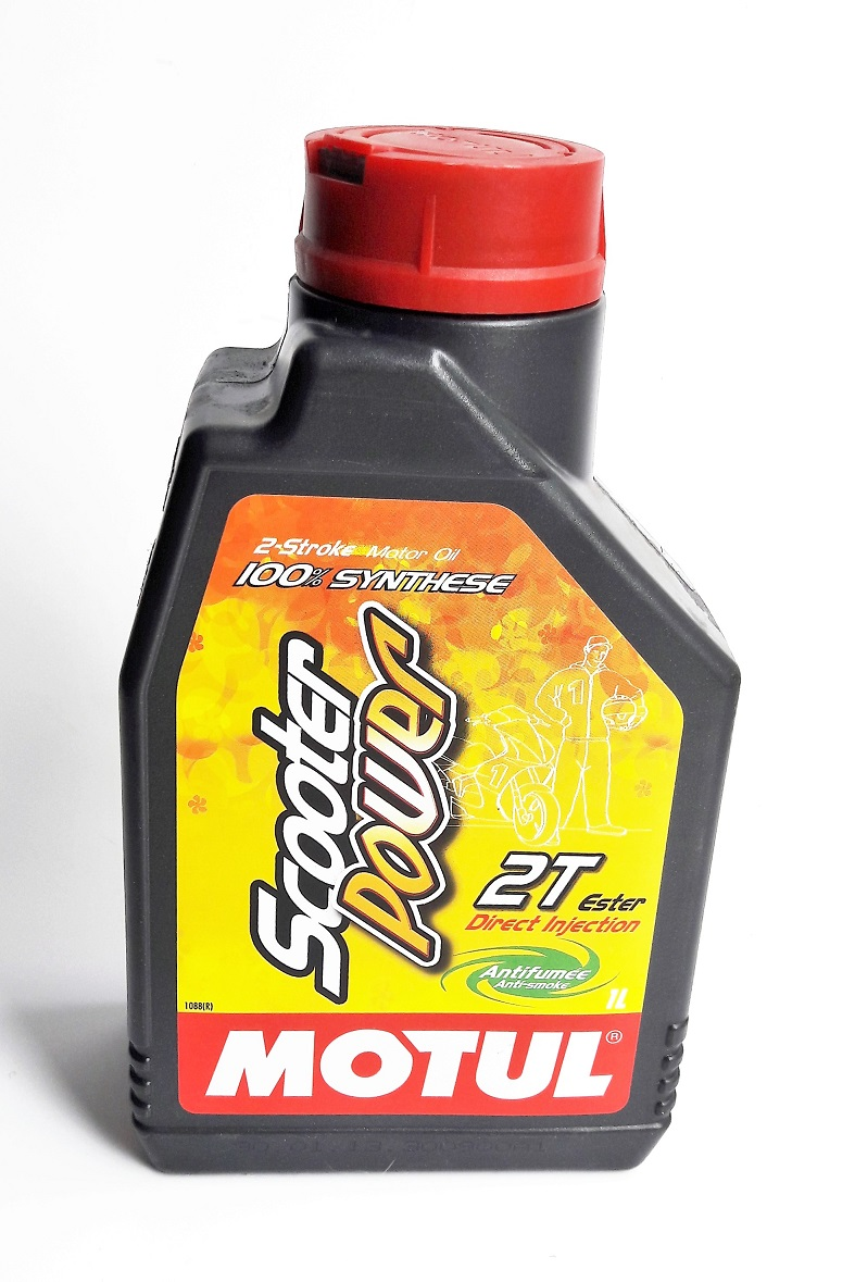 0043131 Масло мот.Motul Scooter Power 2T 1л